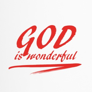 God_is_wonderful - Mug thermos