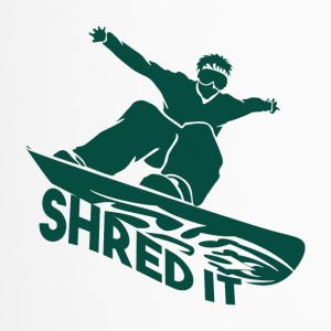 SHRED IT - Boarder Macht - Thermo mok