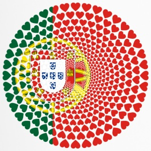 Portugal Portuguesa Love HERZ Mandala - Thermobecher