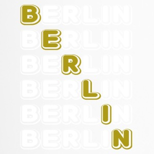Berlin wit kruis - Thermo mok