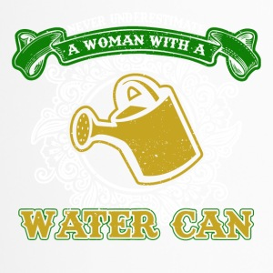 No woman with a watering can - Travel Mug