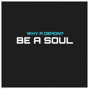 Warum hat demom? BE A SOUL - Thermobecher
