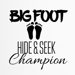 Big Foot Verstoppertje Champion - Thermo mok