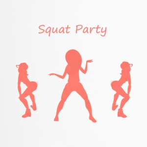 Squat party corail - Mug thermos
