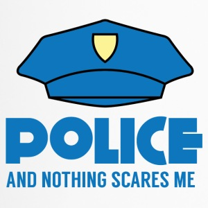 Police: Police And Nothing Scares Me - Travel Mug