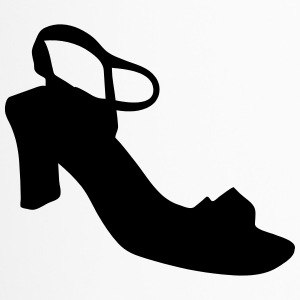 Vector highheels Silhouette - Thermobecher