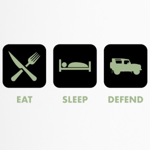 Eat, Sleep & Defend - Mug thermos