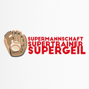 Supermannschaft, Supertrainer, Supergeil - Thermobecher