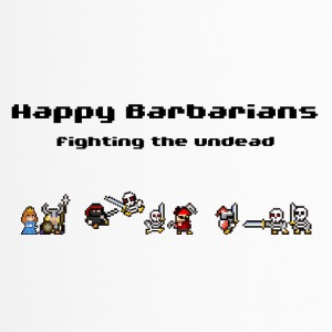 Happy Barbarians - Fighting the undead - Thermobecher