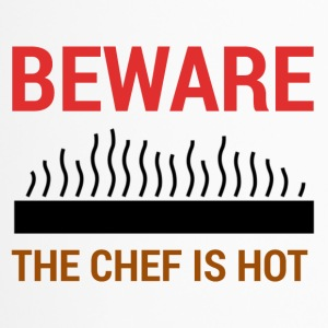 Cuisinier / Chef: Attention - Le chef est chaud. - Mug thermos
