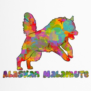 Alaskan Malamute Multicolor - Thermo mok