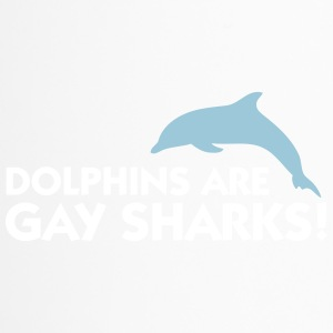 Dolphins Are Gay Sharks! - Travel Mug
