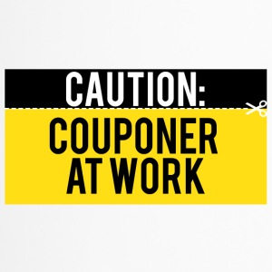 Couponing / Cadeaux: Attention - couponer au travail - Mug thermos