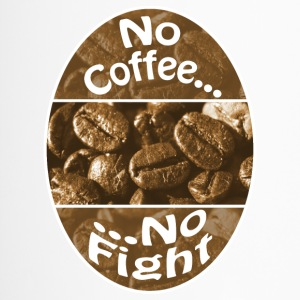 Geen Koffie Geen Fight - Thermo mok