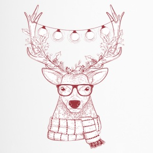 Cool Reindeer Design - Travel Mug