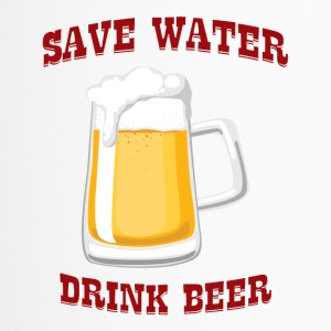 Beer - Save Water, Drink Beer - Travel Mug