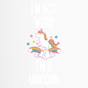 I'm not weird, I'ma unicorn - Travel Mug