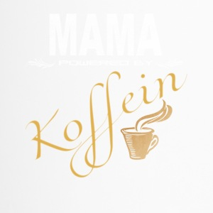 Mama powered by Koffein Shirt Design - Thermobecher
