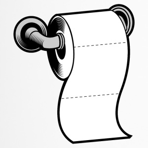 Toilettenpapier - Thermobecher