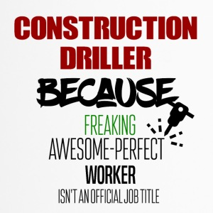 Construction driller - Travel Mug
