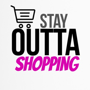 Stay outta shopping please - Thermobecher