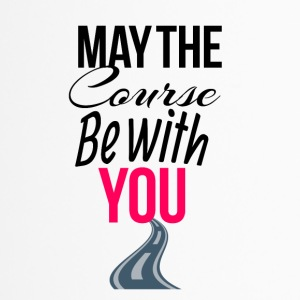 May the course be with you - Travel Mug