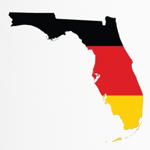 Deutsche in Florida USA TShirt HATRIK DESIGN - Thermobecher