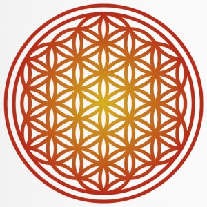 Yoga Mandala Flower of Life - Thermo mok