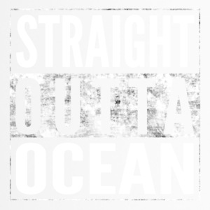 STRAIGHT OUTTA OCEAN sea shirt - Travel Mug