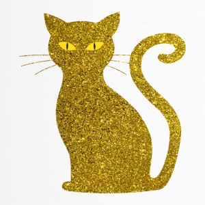 Chat d'or - Golden Cat Glitter Glitter or - Mug thermos