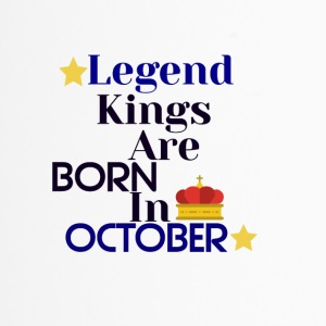 Legend Kings are born in October - Travel Mug