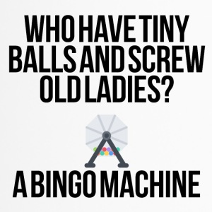 Who have tiny balls and screw old ladies? - Travel Mug