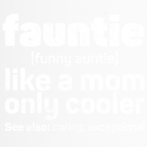 Fauntie - Funny Auntie used look - Travel Mug