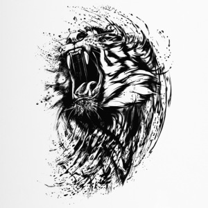 Tiger - Paint - Thermobecher