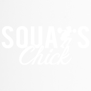 Squat Fitness Chick - Tazza termica
