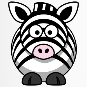 Zebra cartoon 1 - Travel Mug