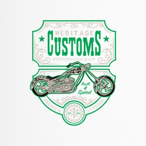 Custom Bike - Taza termo
