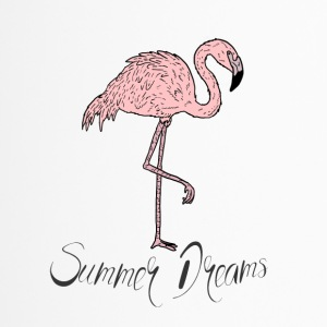 Pink Flamingo esotici - Summer Dreams T-shirt - Tazza termica