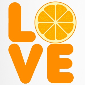 Frukt / frukt: Love Orange - Termosmugg
