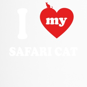 I love fat cats SAFARI CAT - Travel Mug