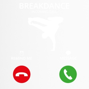 Call Mobile Anruf breakdance bboy breakin - Thermobecher