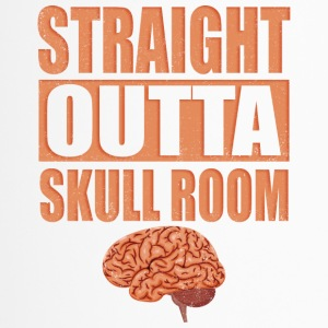 Straight outta Skull Room T-Shirt - Thermobecher