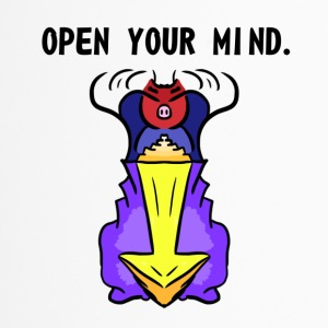 OPEN YOUR MIND. - Travel Mug