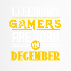 Legendary Gamers are born in December - Travel Mug