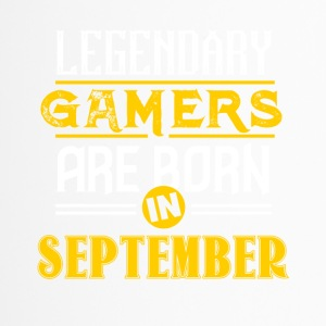 Legendary Gamers are born in September - Travel Mug