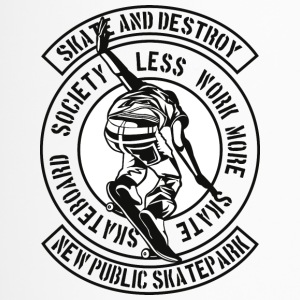Skate And Destroy - Thermobecher