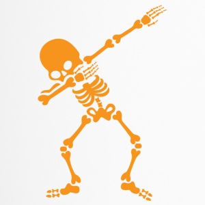 Funny Halloween Dabbing Skeleton Shirt Dab Hip Hop - Thermobecher