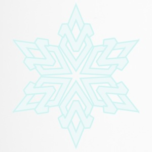 snowflake - Travel Mug