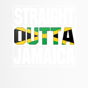 straight outta jamaica - Thermobecher