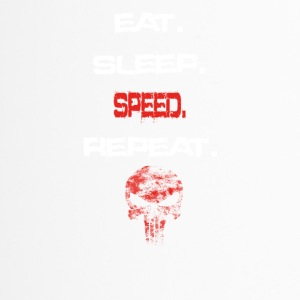 eat sleep repeat geschenk SPEED - Thermobecher